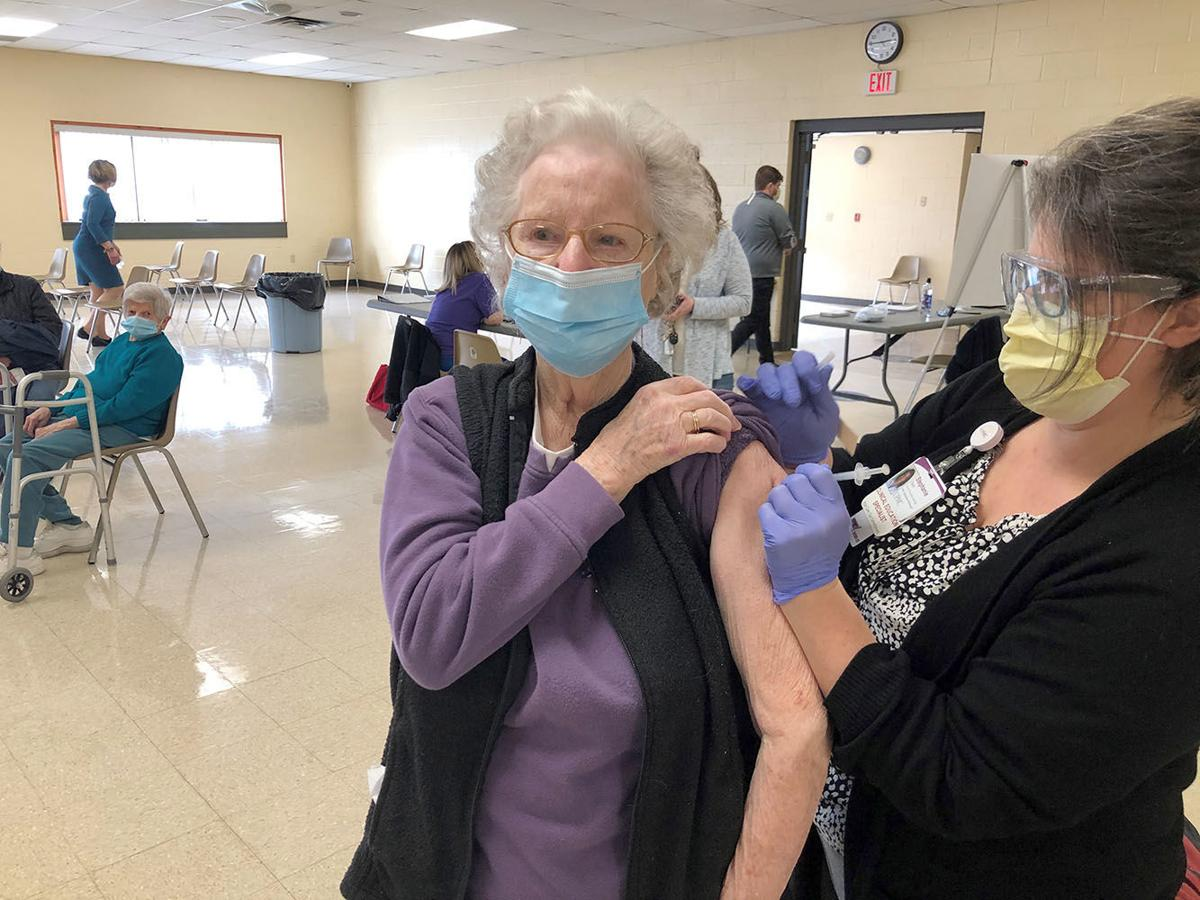 Vaccine clinic held in Wellsboro