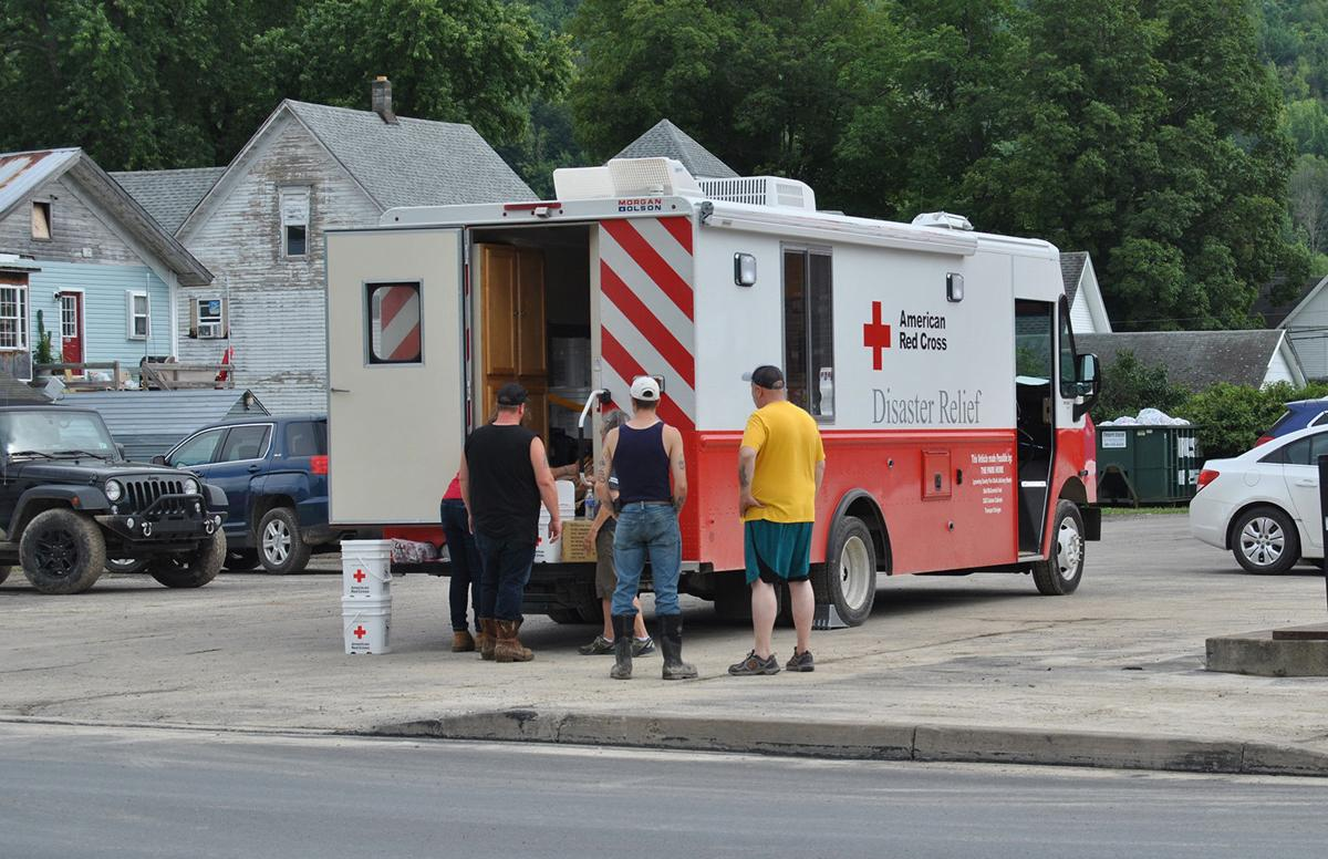 Knoxville flooding - Red Cross