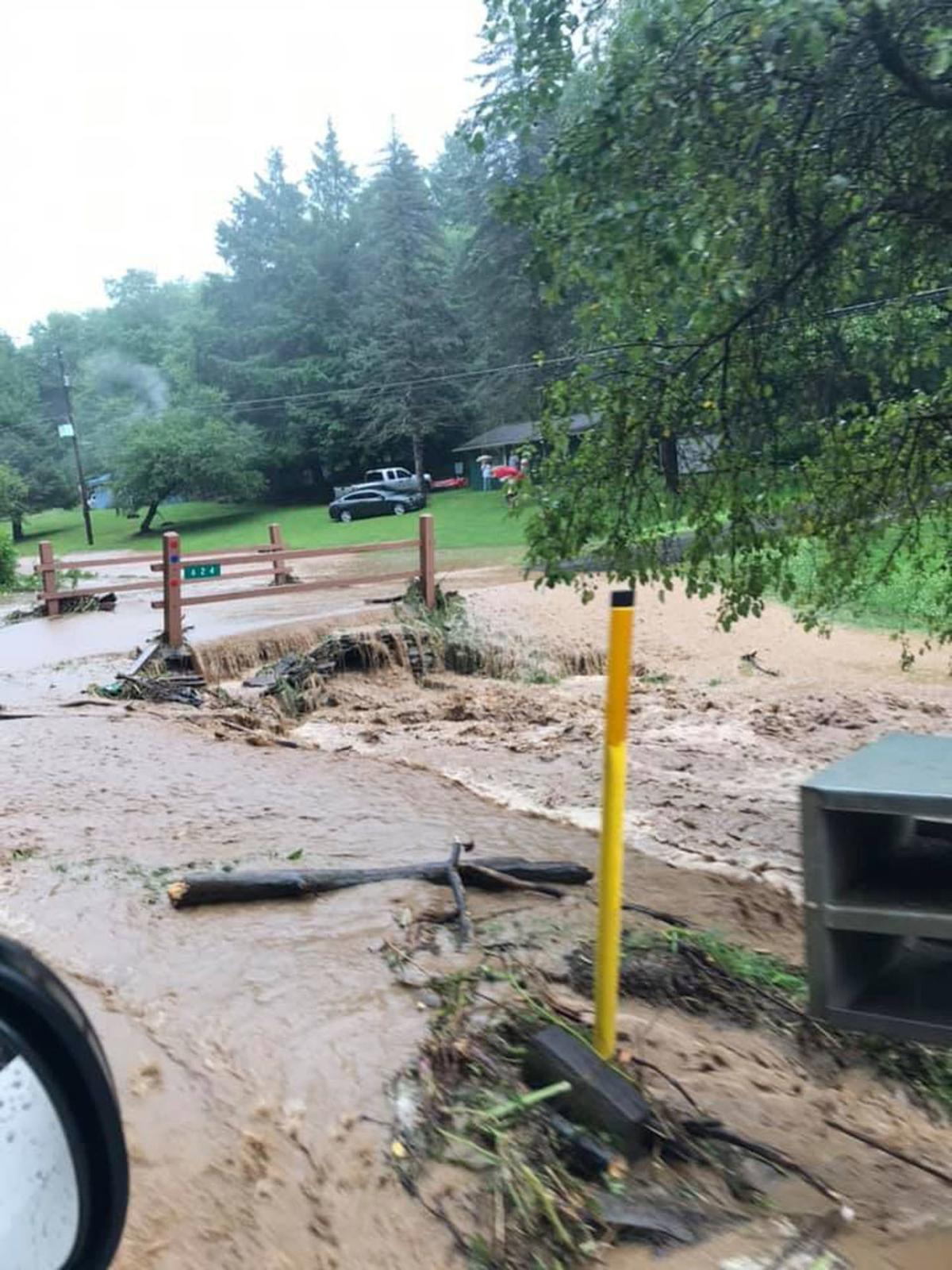 Sweden Twp. sees flooding over weekend