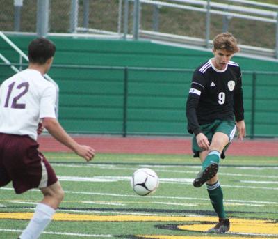 Poirier kicks ball