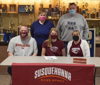 Milhein signs letter of intent