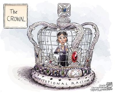 Editorial cartoon 3/18/2021