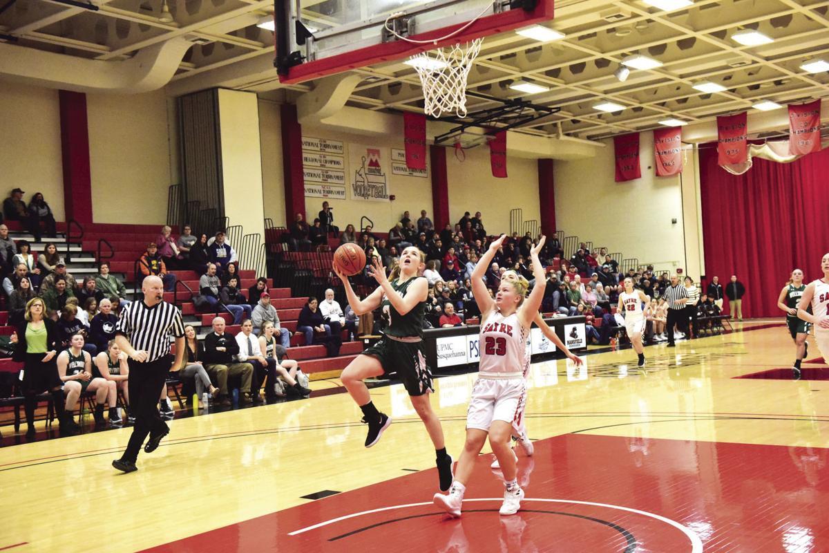 Emma Poirier leads Wellsboro offense