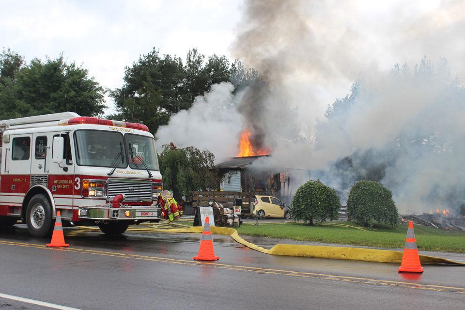 Charleston Twp. fire