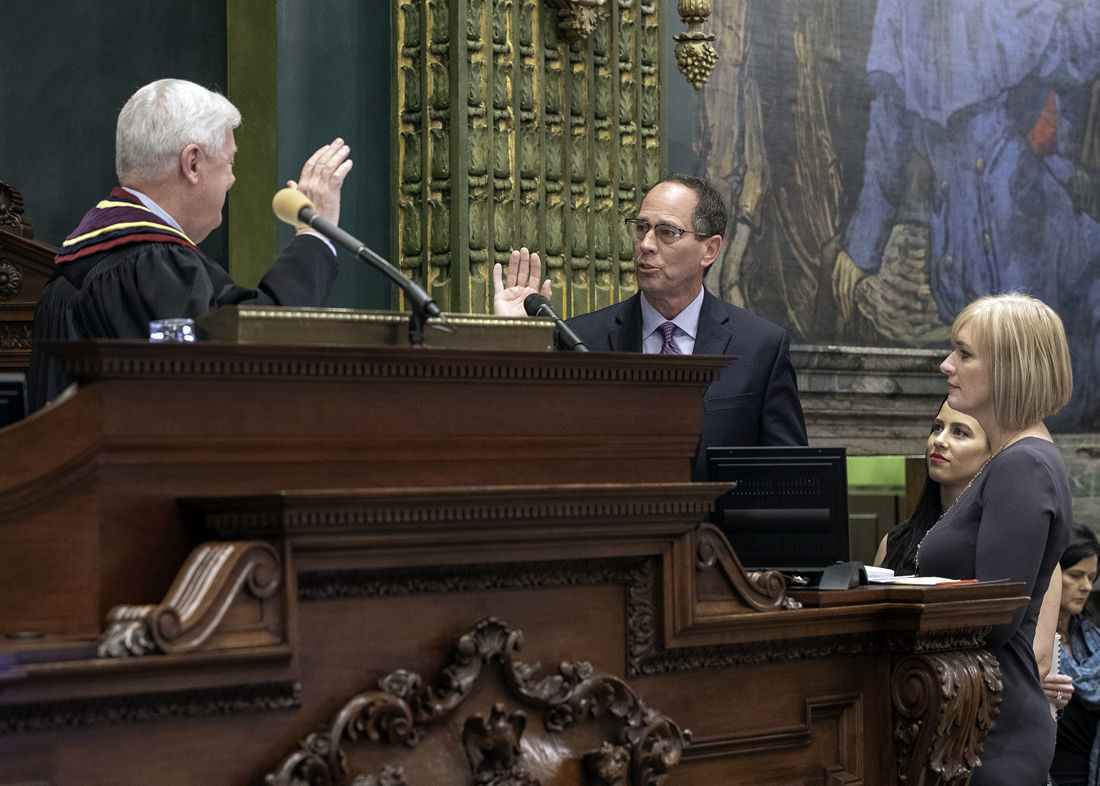 Sworn in as president pro tempore