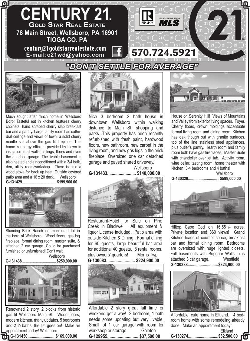 752da986fb1 Century21 New Top 6-14-18.pdf | Wellsboro Gazette | tiogapublishing.com