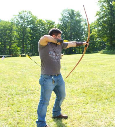 Josh takes aim