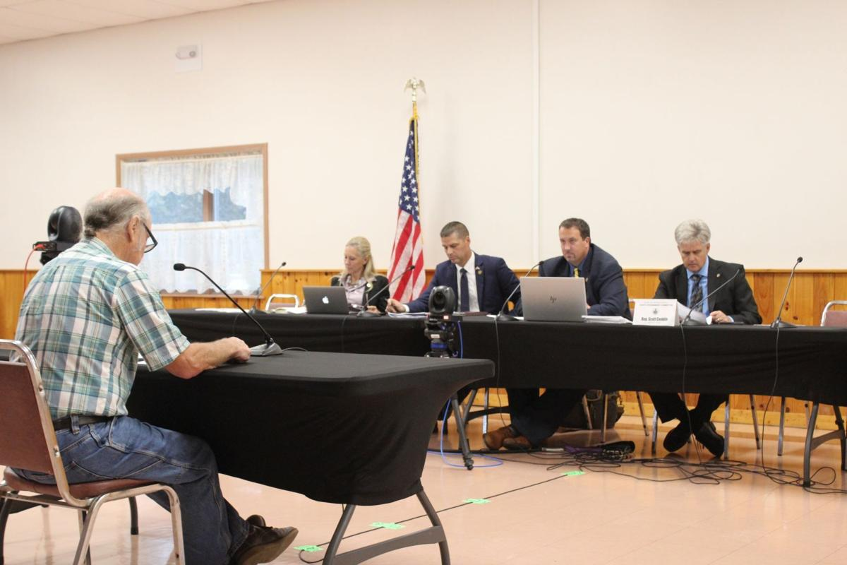 State representatives hear public opinion on redistricting