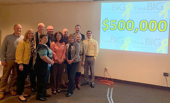 ThinkBig raises more than $500,000 for families affected by pediatric cancer
