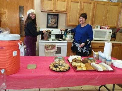 Churches launch monthly community lunch