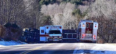 Log truck driver dies in Dec  28 crash | Local | tiogapublishing com