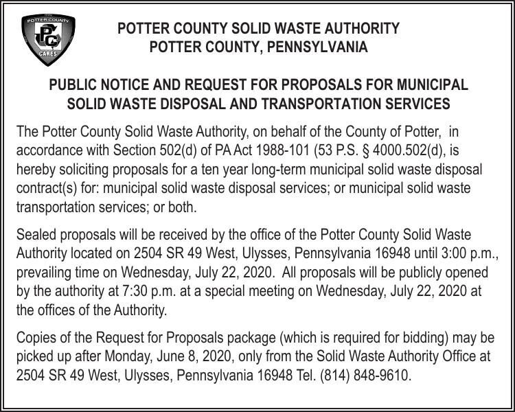 PotterSolidWasteAuthority Notice 6.4.20.pdf
