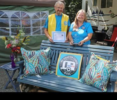 COUPLE recognized for volunteer work