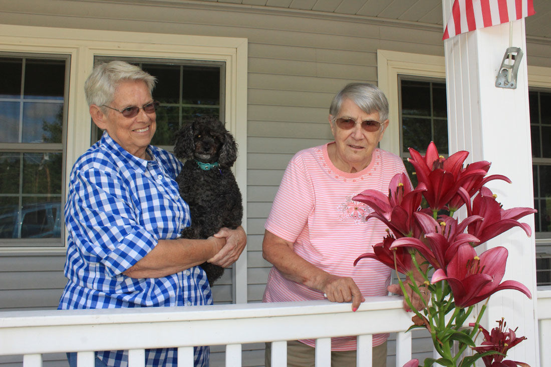 Residents grow flowers, friendship