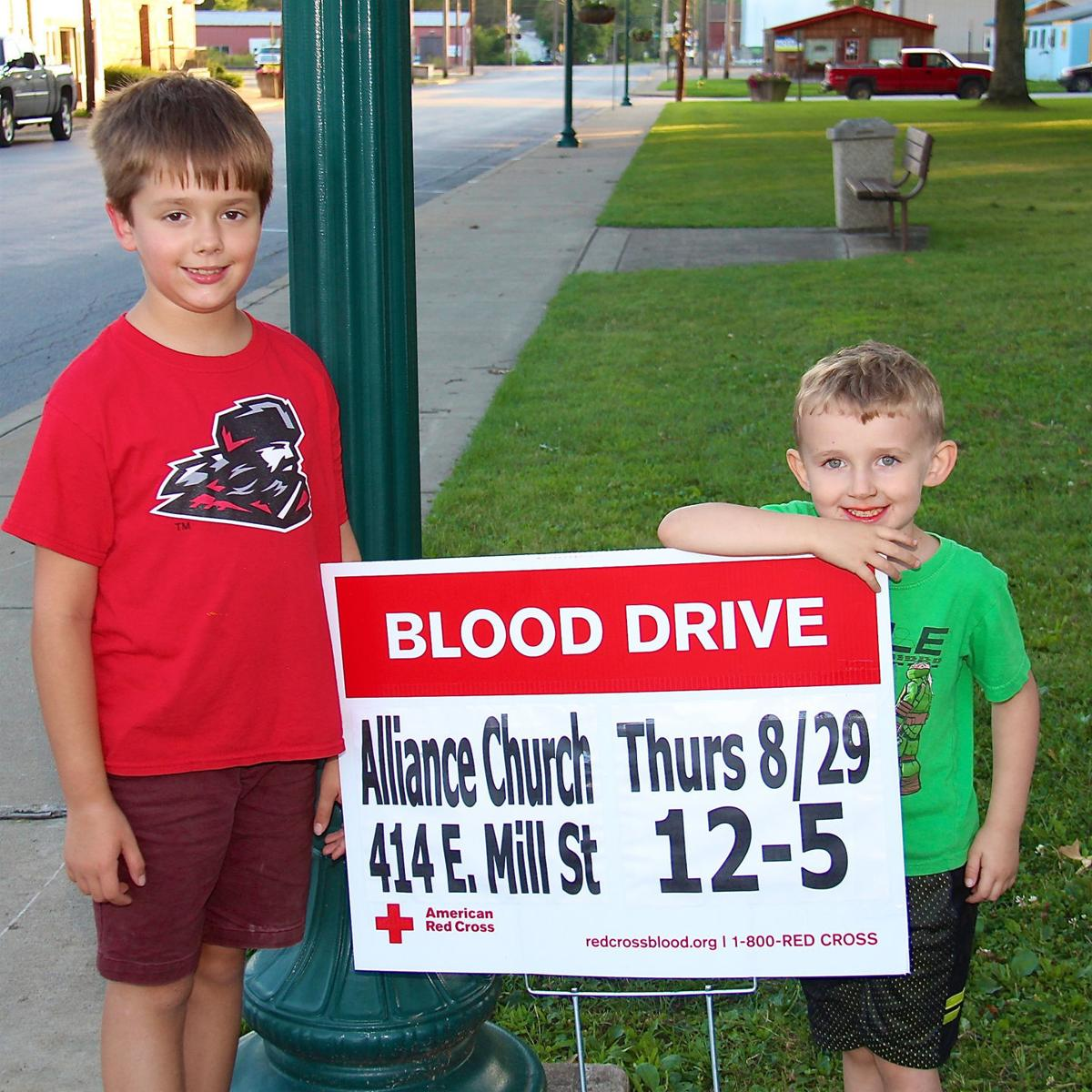 Youth remind public of blood drive