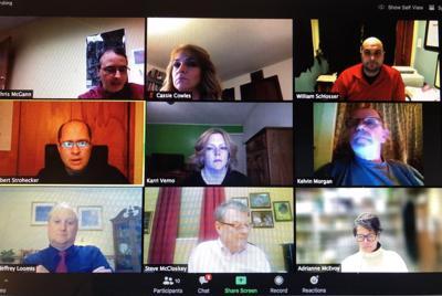 Council meets virtually