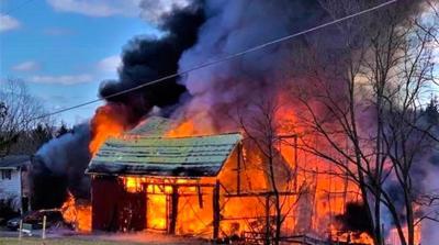 Wellsboro man killed in barn fire