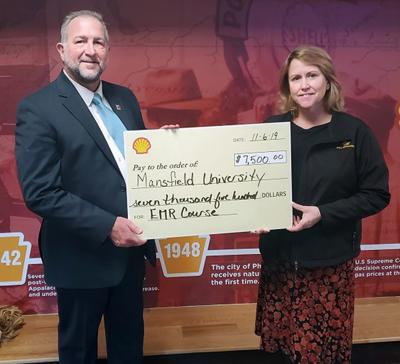 Shell gives to Mansfield University