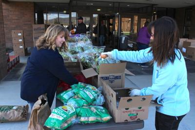 Pop Up Food Pantry Serves Local Community Free Press Courier Tiogapublishing Com