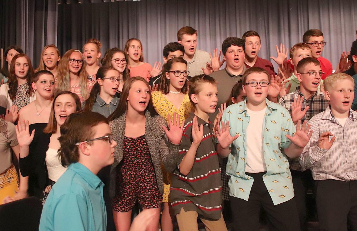 Port Allegany junior high chorus