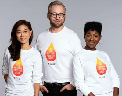 T-shirt given to blood donors