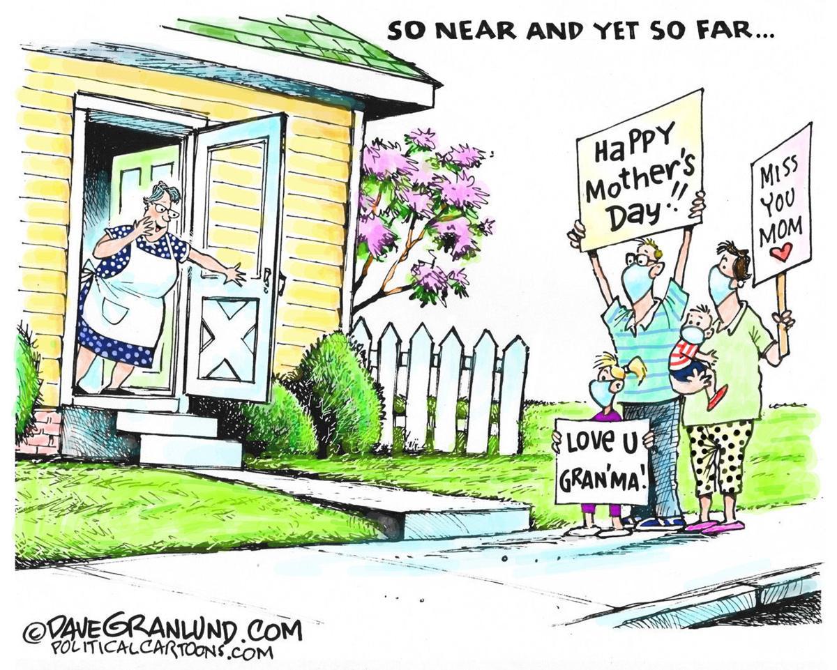 Editorial Cartoon, May 7, 2020