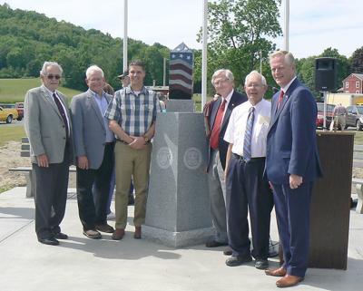 Millerton dedicates new veterans memorial