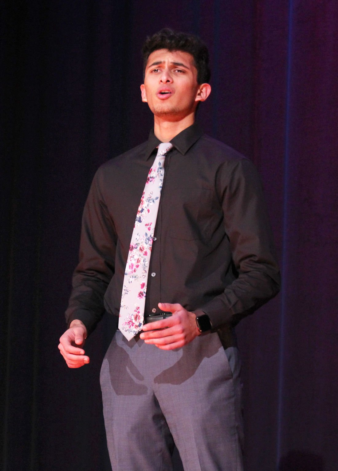Oam Patel wins competition