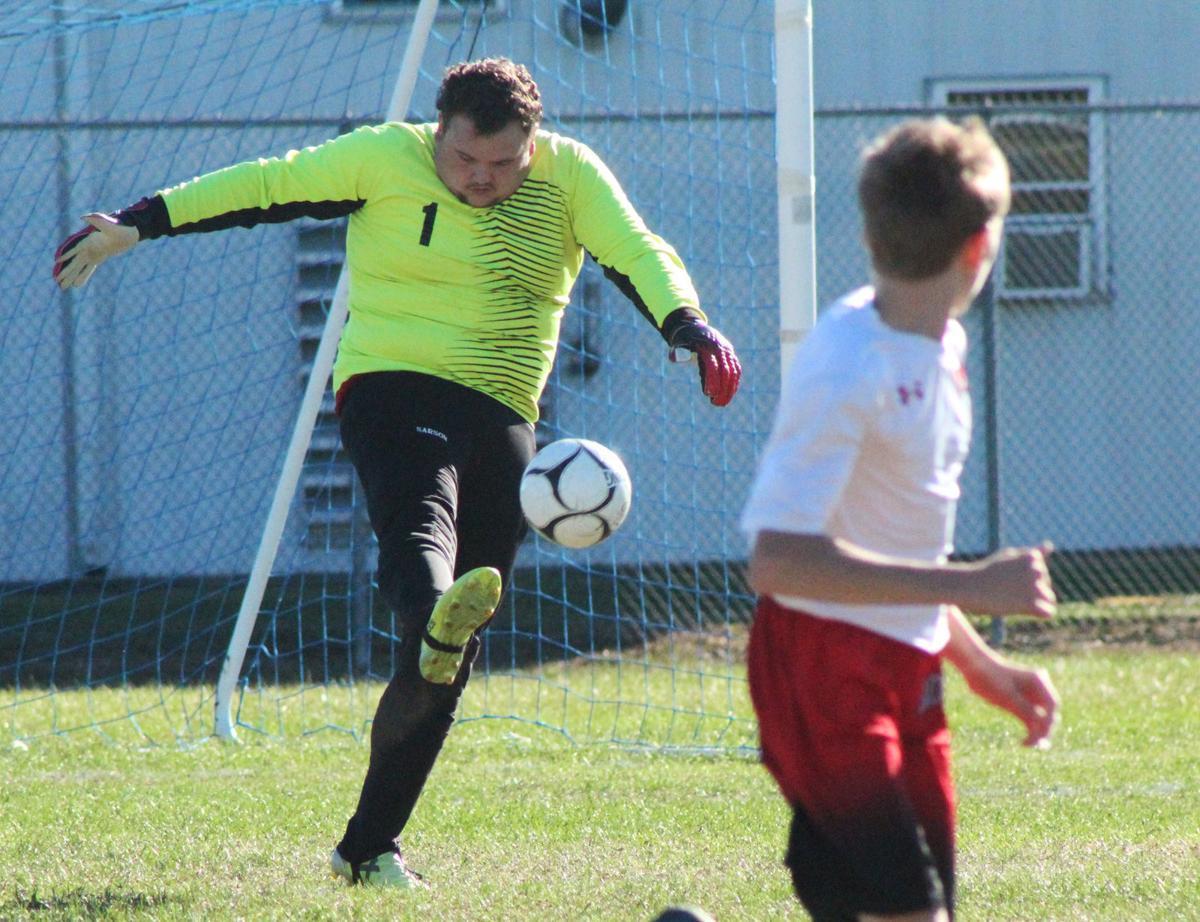McGovern goal kick
