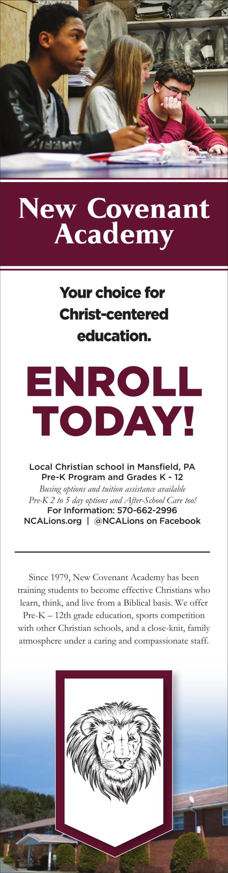 New Covenant Academy_Enrollment 3x21 ROP_3-28-19 pdf | Free Press