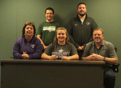Abigail Colton signs letter of intent for Asbury University