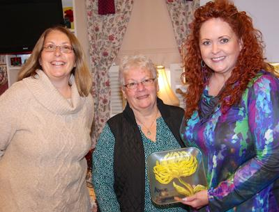 Monthly Above and Beyond Award presented