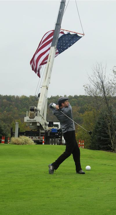 Swinging for our Vets