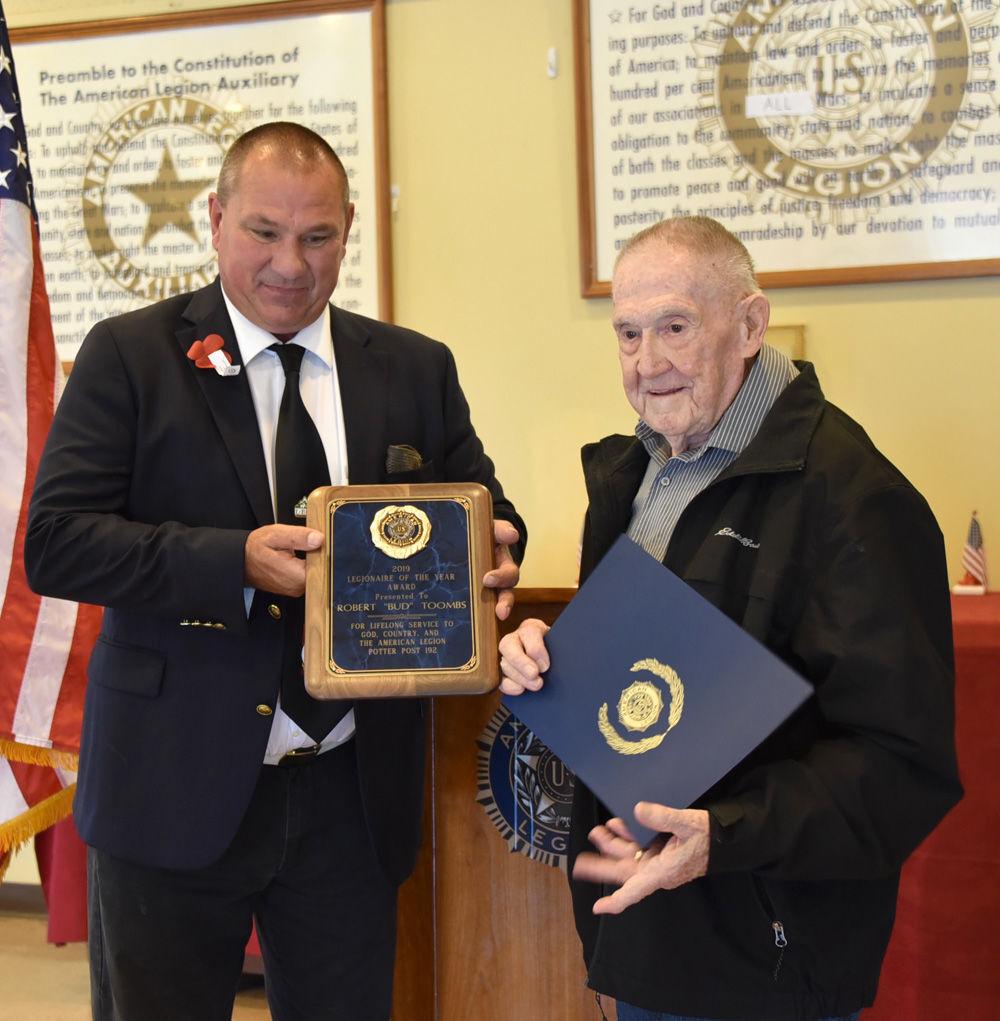 Legion honors two