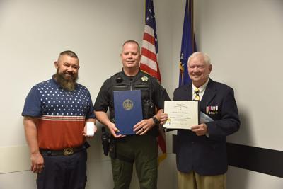 Sons of the American Revolution recognize sheriff