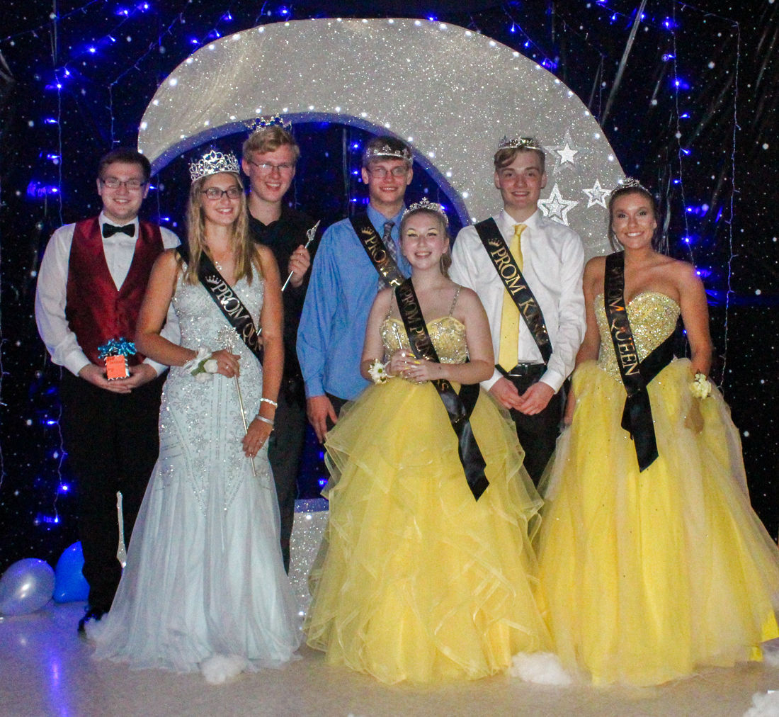 Prom Court for the 2020 Starry Night