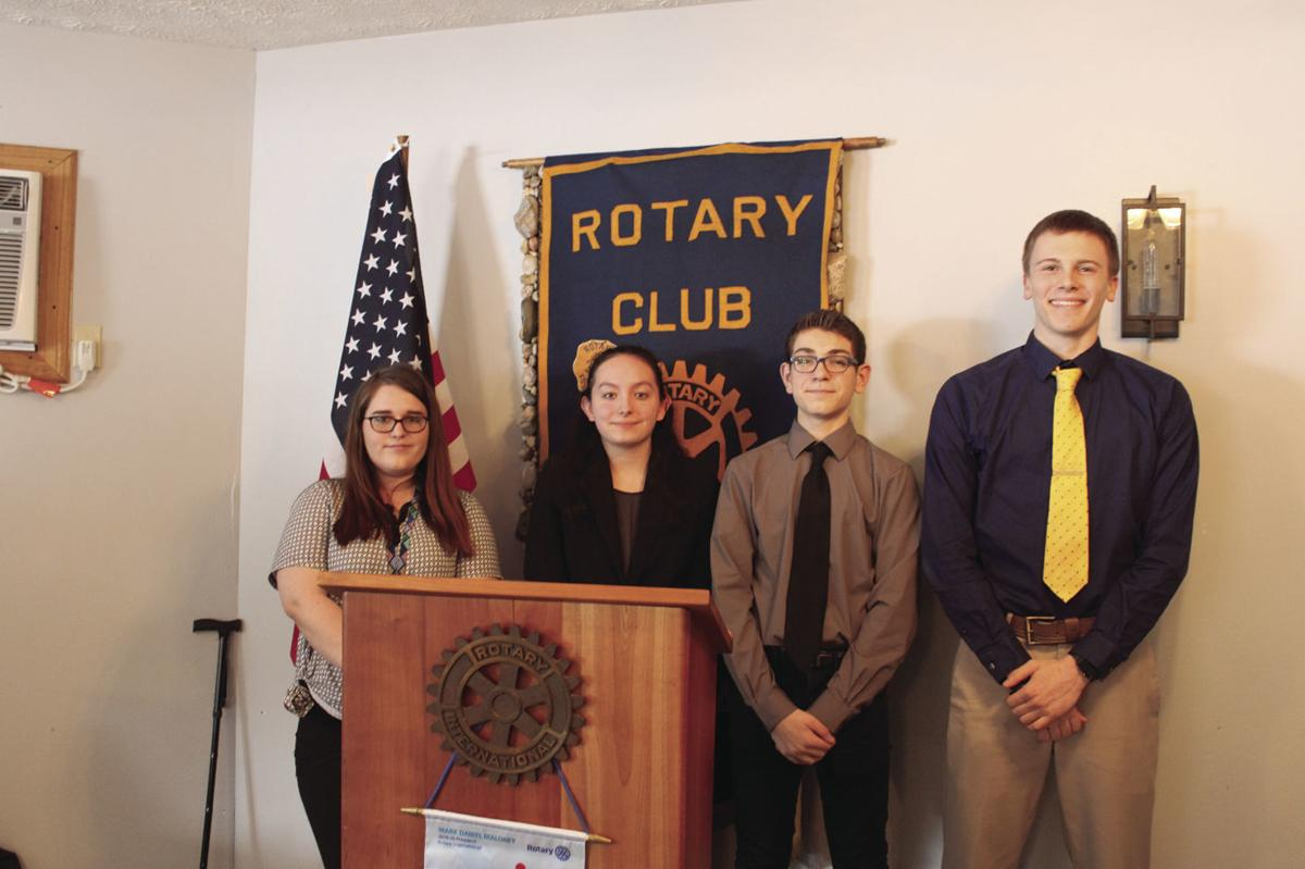 Coudersport High School student takes 1st place in speech contest