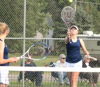 Lady Indians tennis player makes return