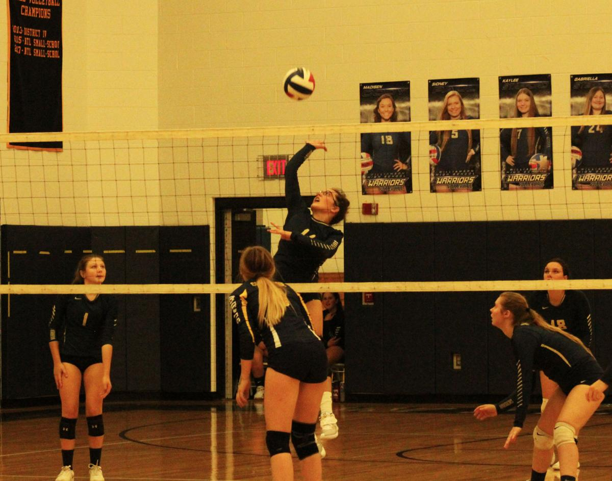 Vargeson tracks ball at the net