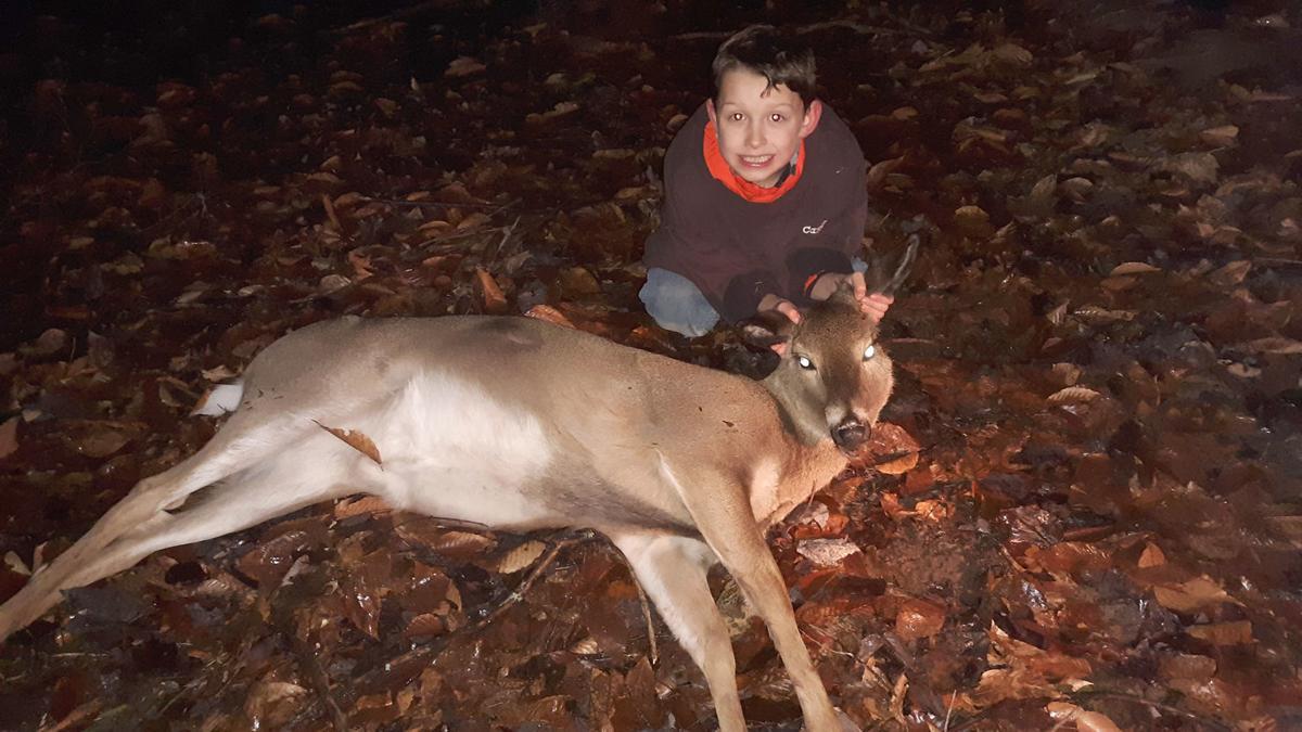 New Year, First Deer