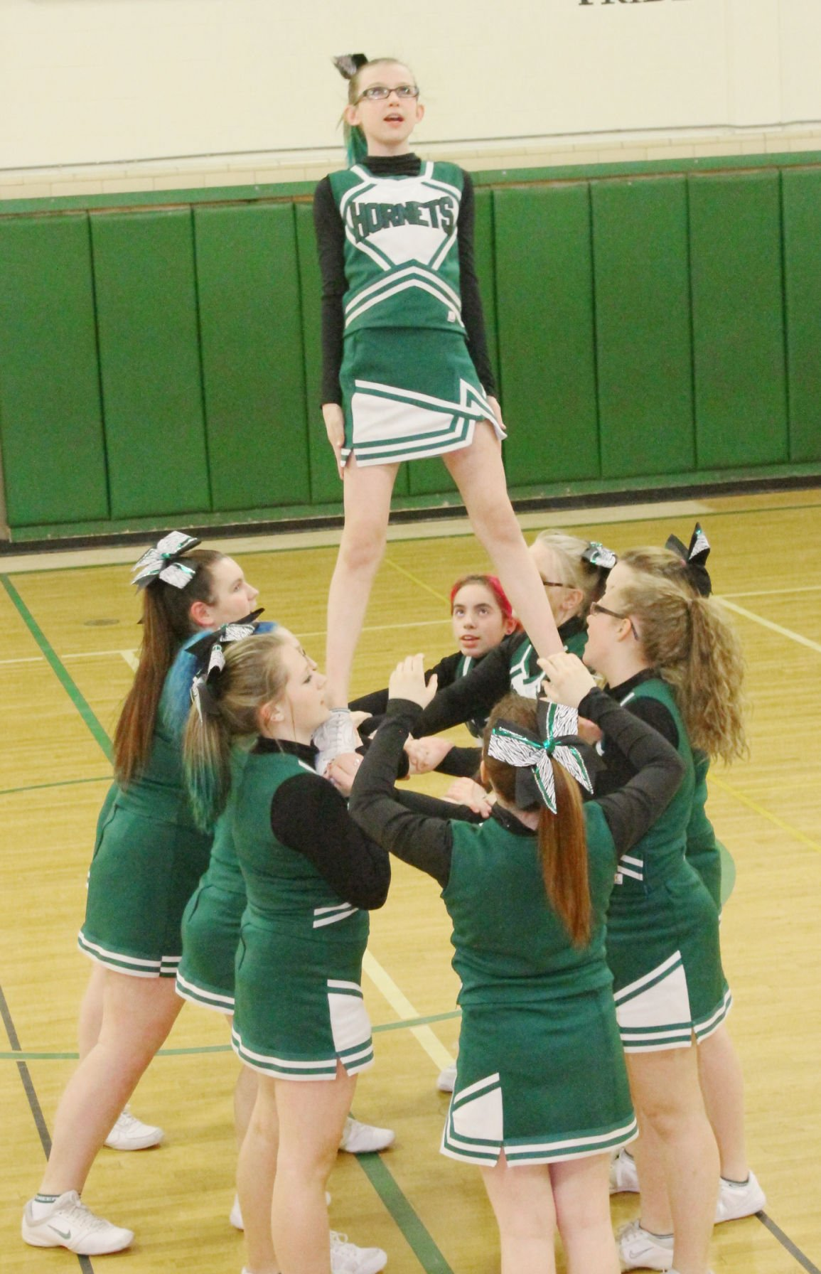 RLB cheer squad places first in stunt competition | Sports ...