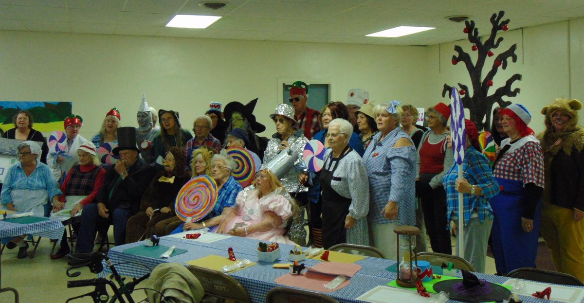 Senior center members attend county-wide get-together