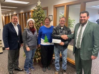 Bank division supports Salvation Army