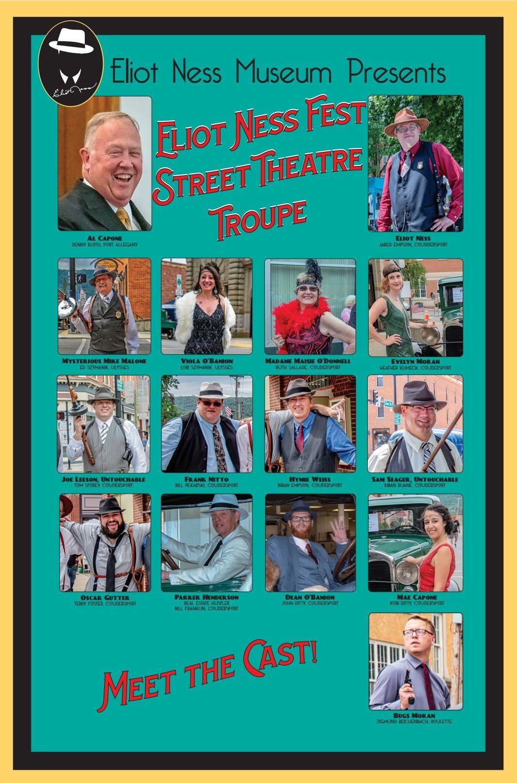 'Capone's Soup Kitchen' cast