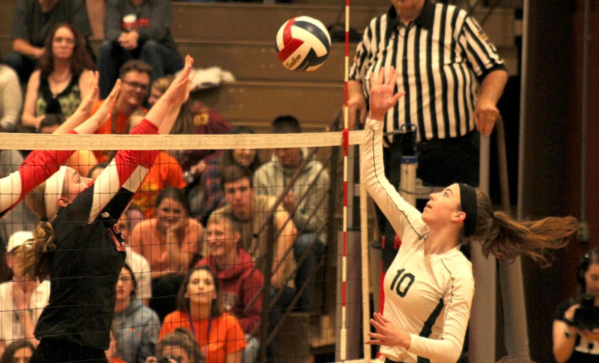 Megan Starkweather attacks the net