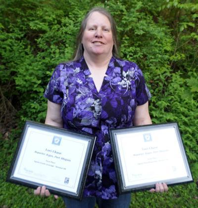 Sports writer wins awards