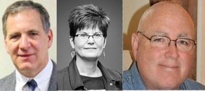 Heimel, Grupp, Hayman on Commissioner ballot