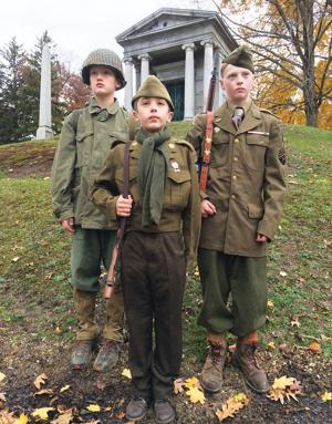 Local kids with passion for history recreate famous battles