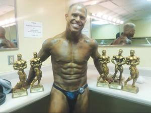 Madden claims title of overall champion at bodybuilding competition