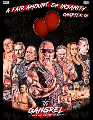 Gangrel to headline 'Fair Amount of Insanity' at Crawford Fair